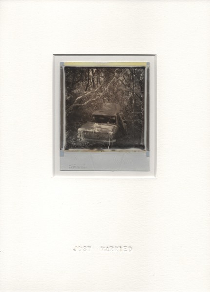 Just married #1, 2013. Polaroïd, 30 x 22 cm.