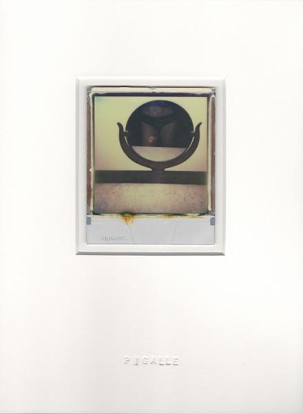 Pigalle, 2013. Polaroïd, 30 x 22 cm.